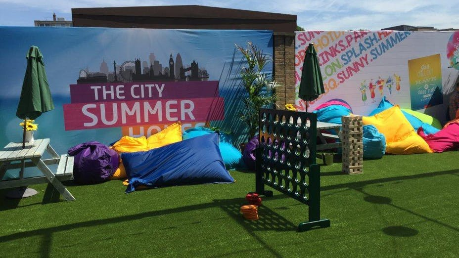 City Summer House Summer Party Venue